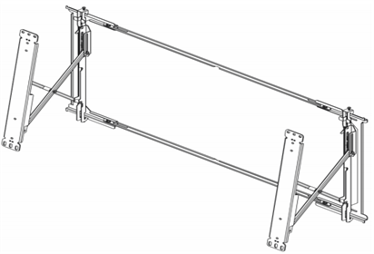 ML20 Thin LCD video wall mount