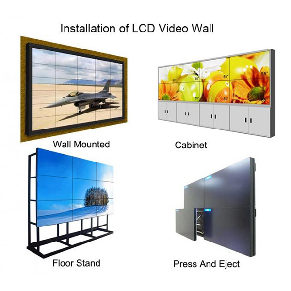 Indoor LCD Video Wall